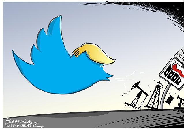 Los tuits de Trump generan confusión en el mercado del petróleo