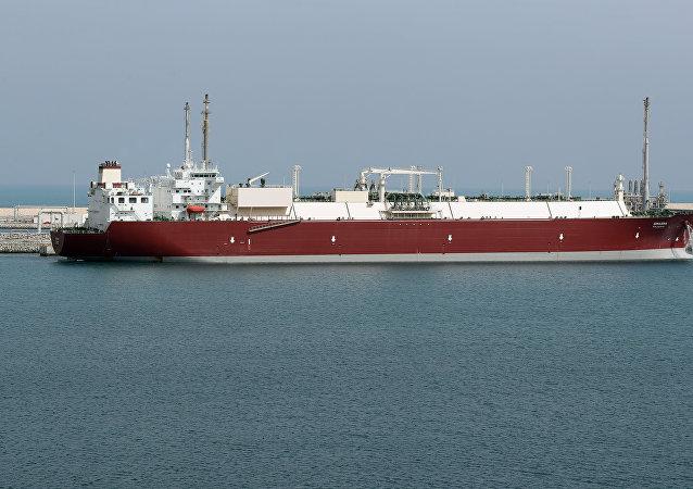 Un buque de gas licuado de petróleo (imagen referencial)