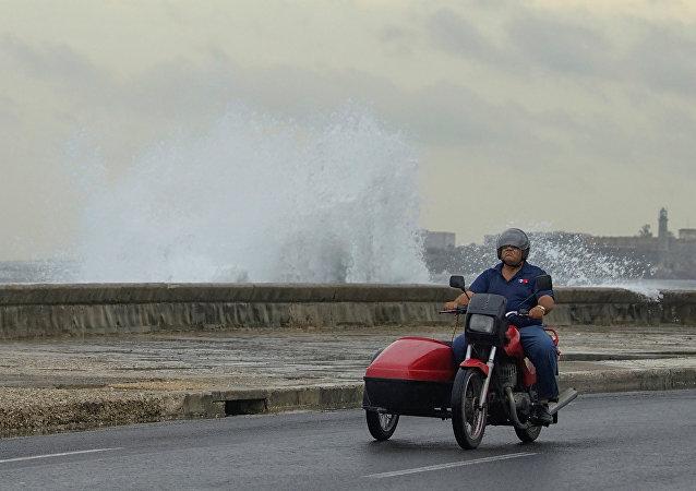 El huracán Michael en Cuba