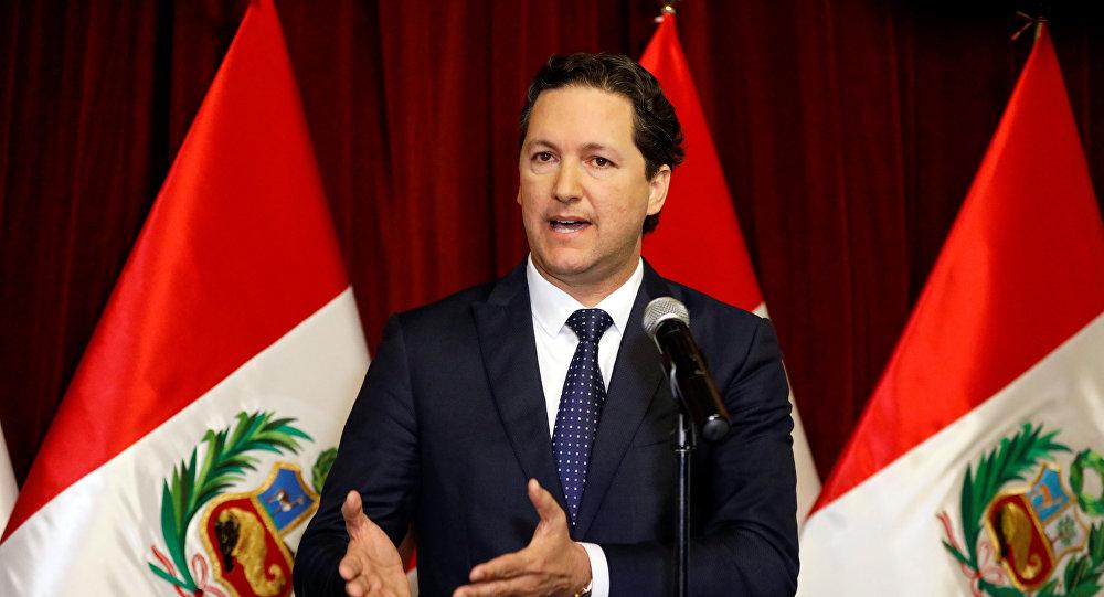 Daniel Salaverry, presidente del Congreso de Perú