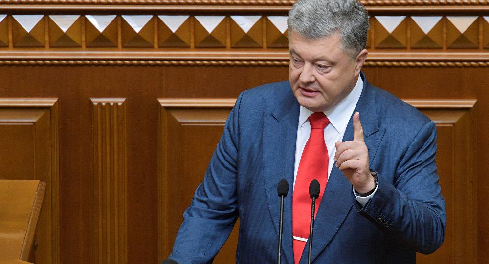 Petró Poroshenko, presidente de Rusia