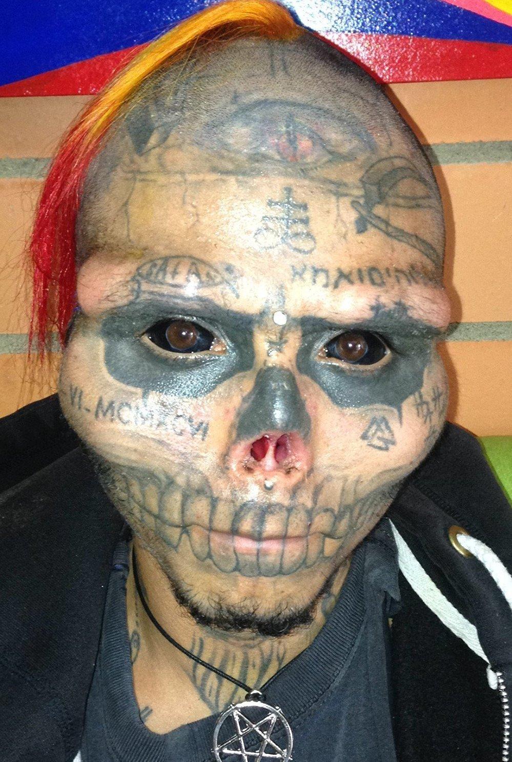 Kalaca Skull, el hombre calavera