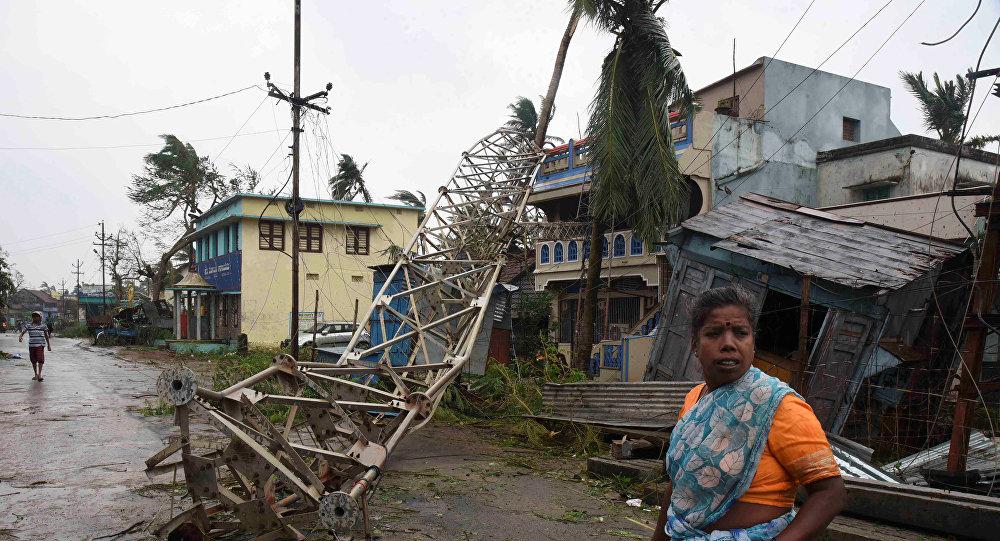 Consecuencias del ciclón Titli en la India