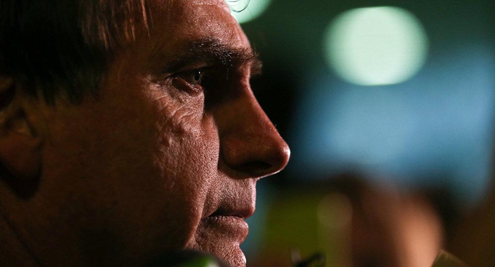 Jair Bolsonaro, candidato a la presidencia de Brasil, en 2016