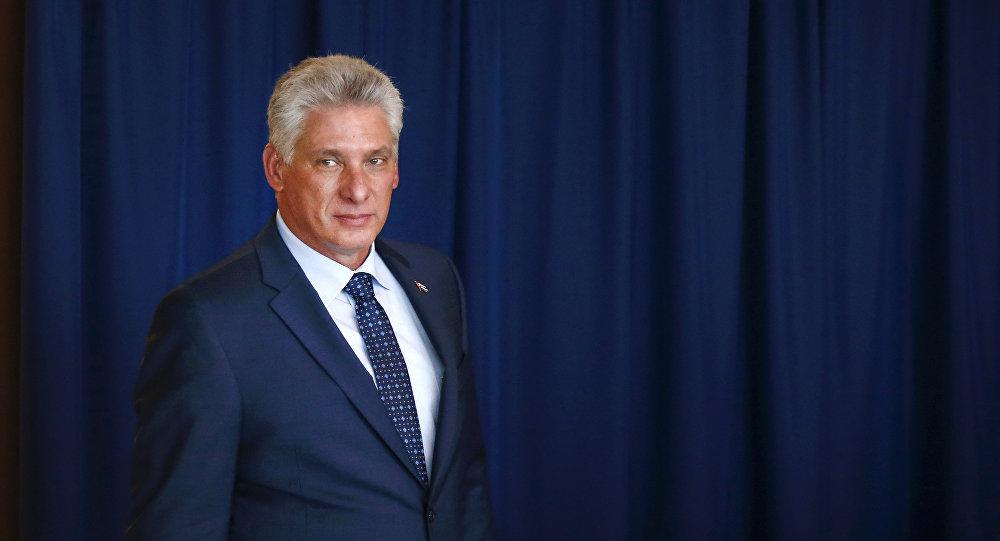 Díaz-Canel, presidente de Cuba