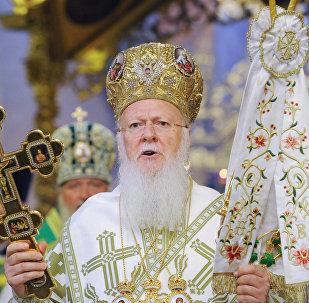 Bartolomé, el patriarca de Constantinopla