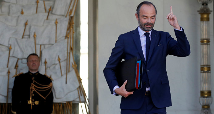 Édouard Philippe, primer ministro de Francia