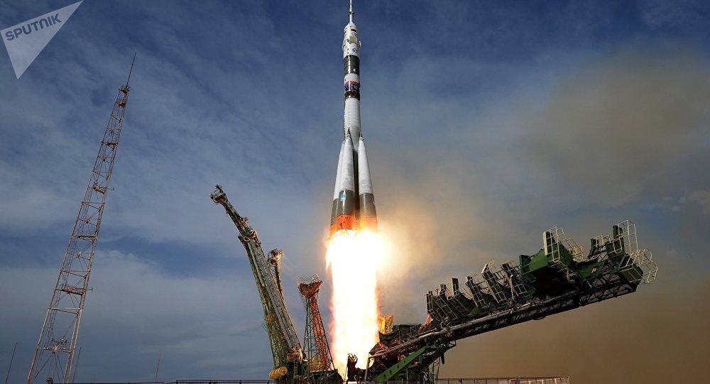 El lanzamiento de un Soyuz (imagen referencial)