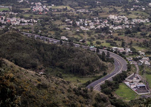 Carretera 95 en su tramo México-Cuernavaca
