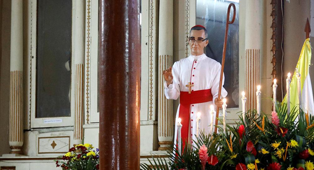 Inician festejos por la canonización de Arnulfo Romero