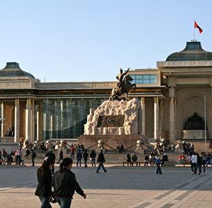 Ulán Bator, capital de Mongolia