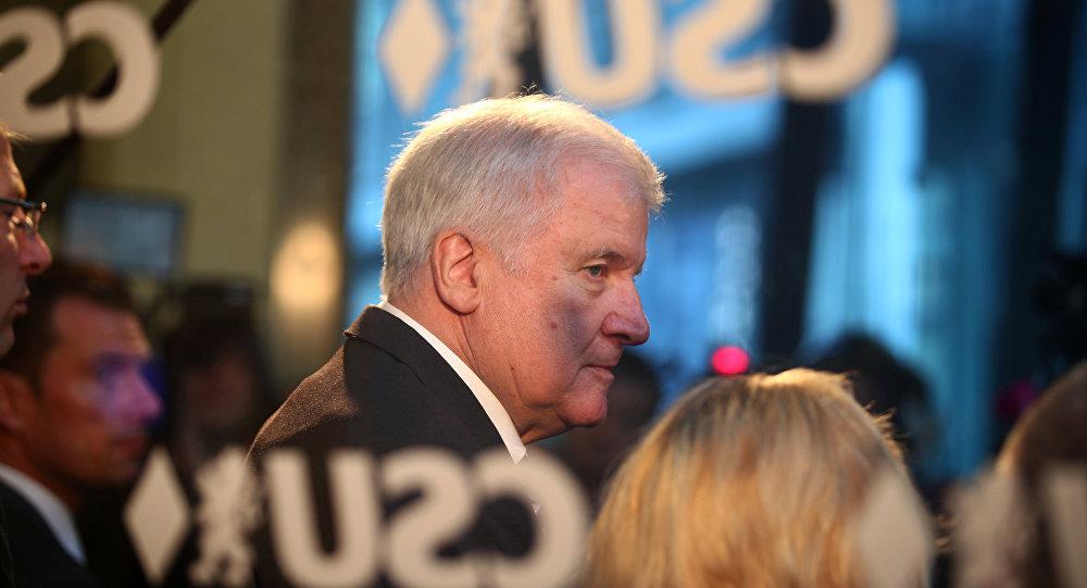 Horst Seehofer, ministro del Interior federal de Alemania y líder de la Unión Social Cristiana (CSU)