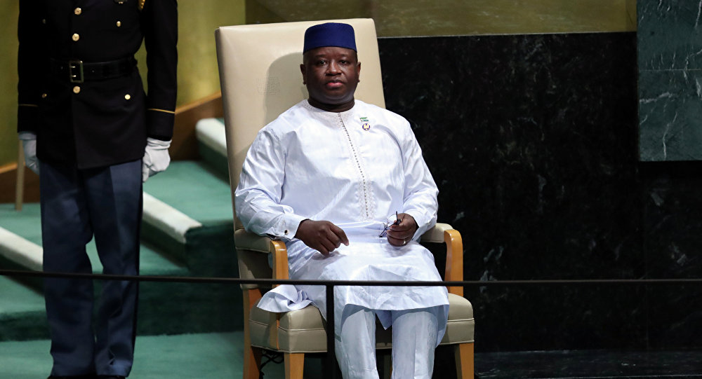 Julius Maada Bio, presidente de Sierra Leona