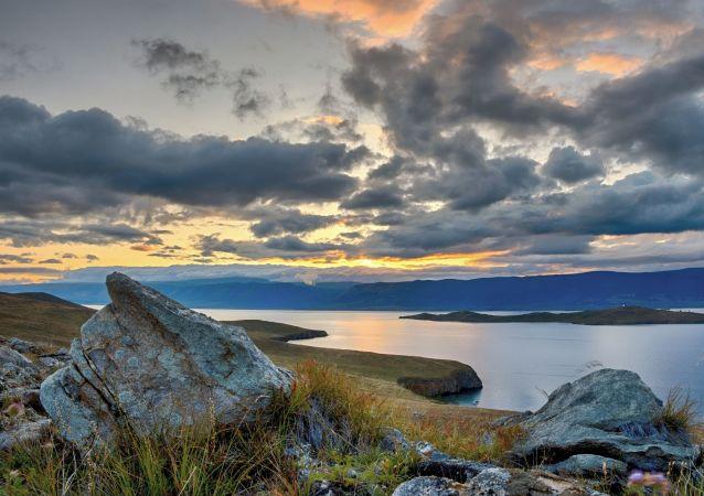 Lago Baikal, referencial