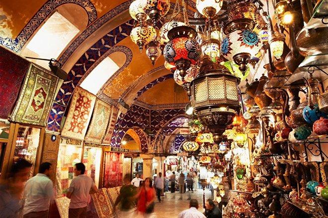 El Grand Bazar de Estambul (Turquía)