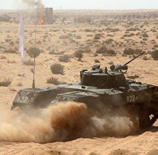Ejercicoios militares ruso-egipcias (archivo)