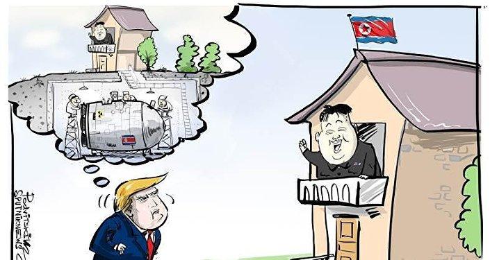 Trump duda del desmantelamiento del programa nuclear norcoreano y de Kim Jong-un