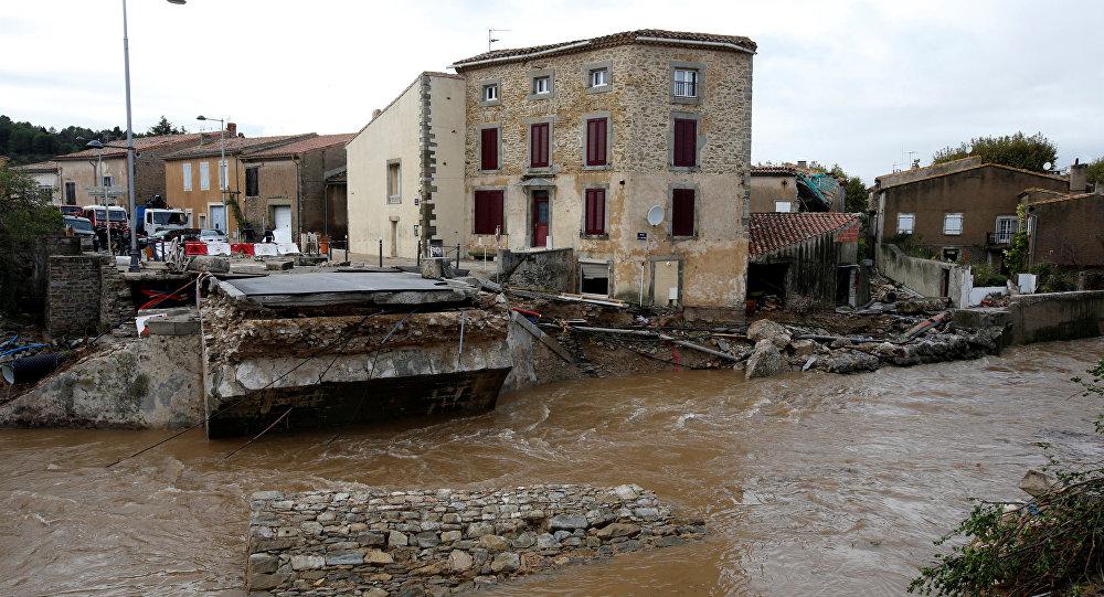 Las inundaciones en Francia