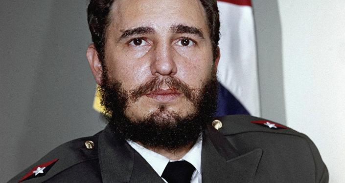 Fidel Castro, lider cubano