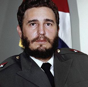 Fidel Castro, lider cubano (archivo)