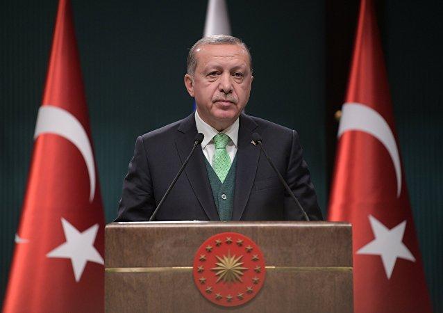 El presidente turco Recep Tayyip Erdogan, imagen referencial