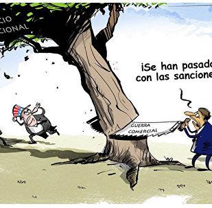 Todo son risas hasta que las sanciones se vuelven contra el que las implementa