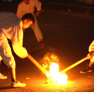 Descubre la pelota purépecha, el deporte más ardiente de México