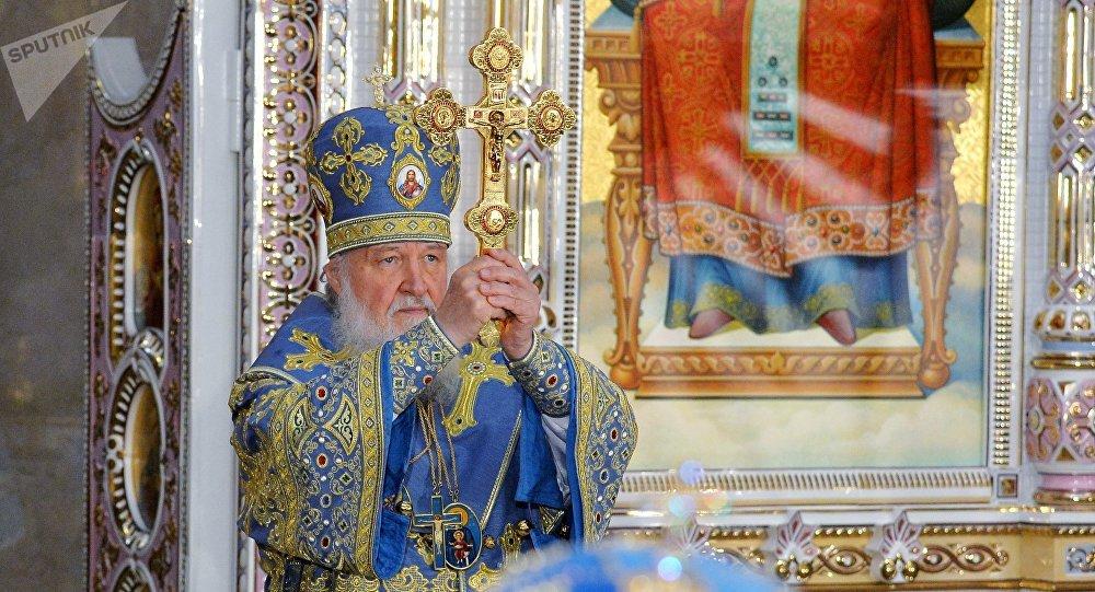 El patriarca de Moscú y de toda Rusia, Kiril