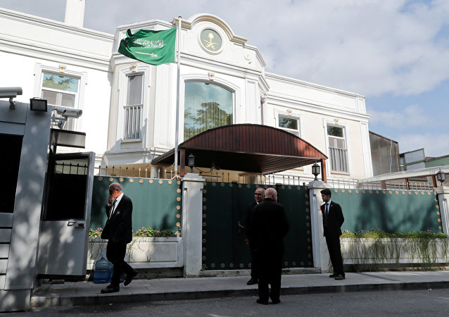 El Consulado General de Arabia Saudí en Estambul, Turquía