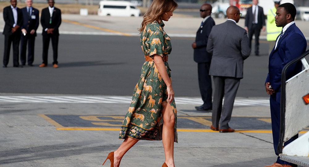 Melania Trump, primera dama de EEUU