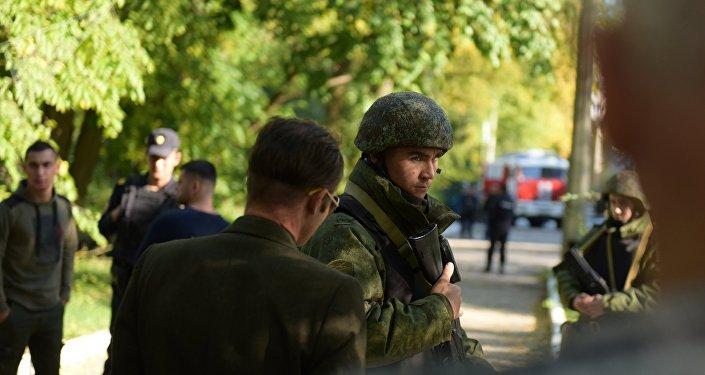 Situación en la ciudad rusa de Kerch tras explosión