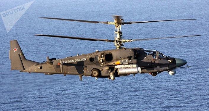 Helicóptero ruso Ka-52K Katran