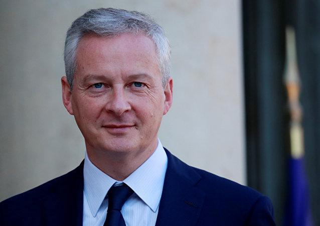 Bruno Le Maire, ministro de Finanzas francés