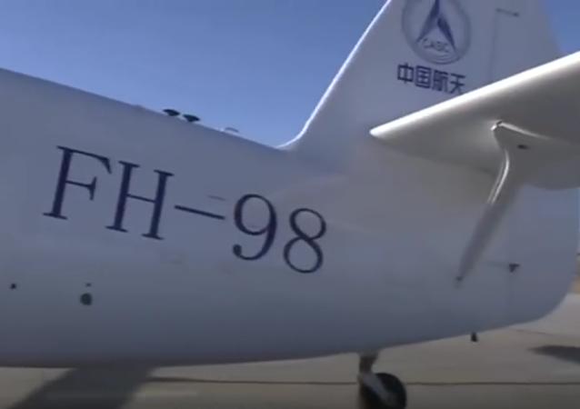 El dron de carga más pesado del mundo alza el vuelo en China (vídeo)