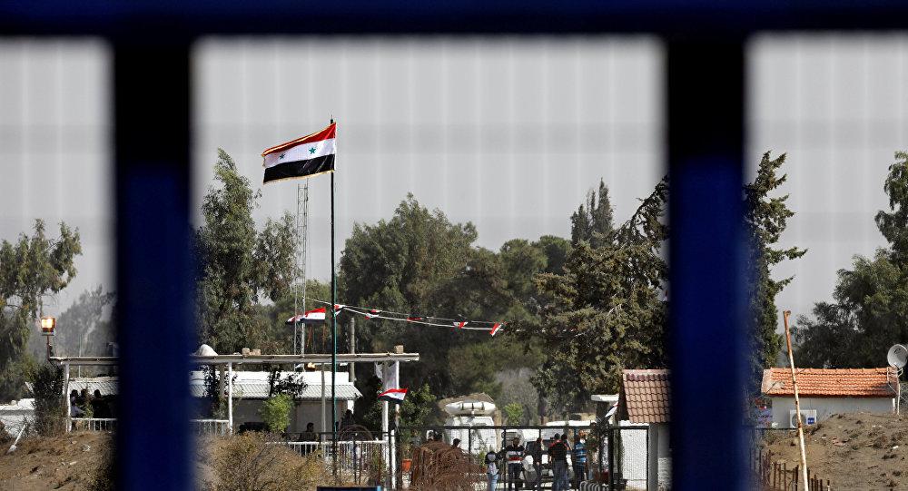 El paso fronterizo Al Quneitra, entre Israel y Siria