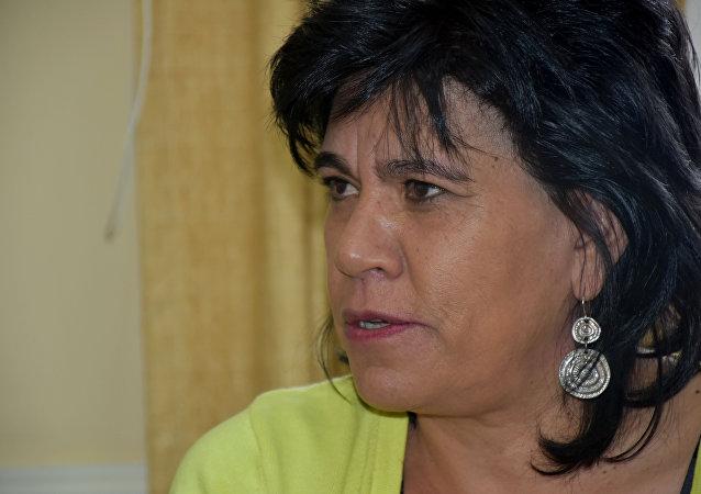 Katia Uriona, la presidenta del Tribunal Supremo Electoral  de Bolivia