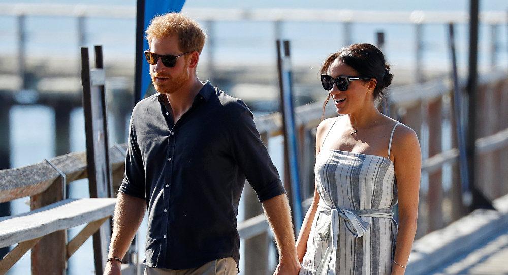 Harry y Meghan en Australia