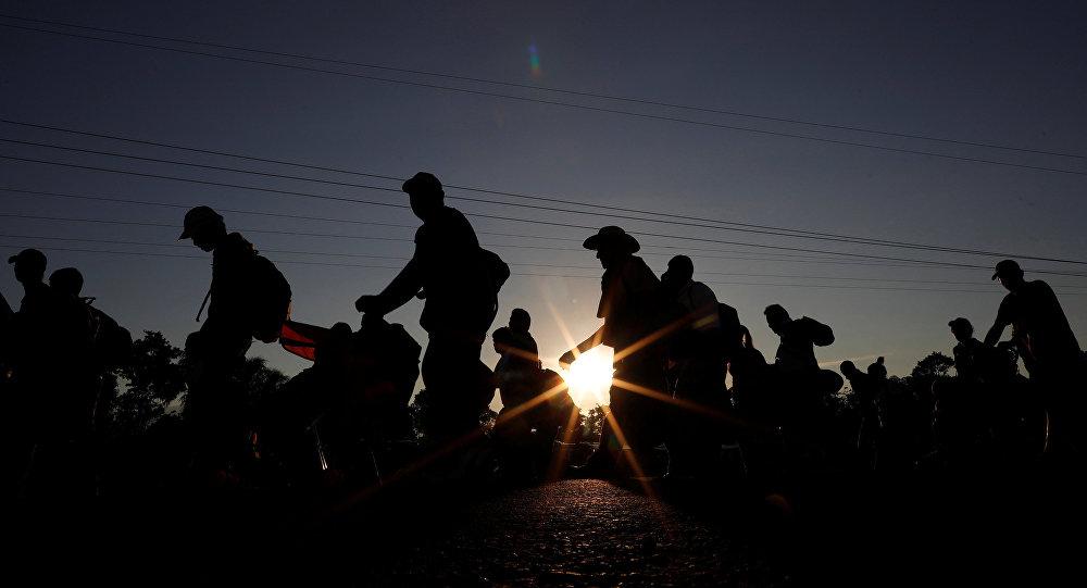 Migrantes de América Central (imagen referencial)