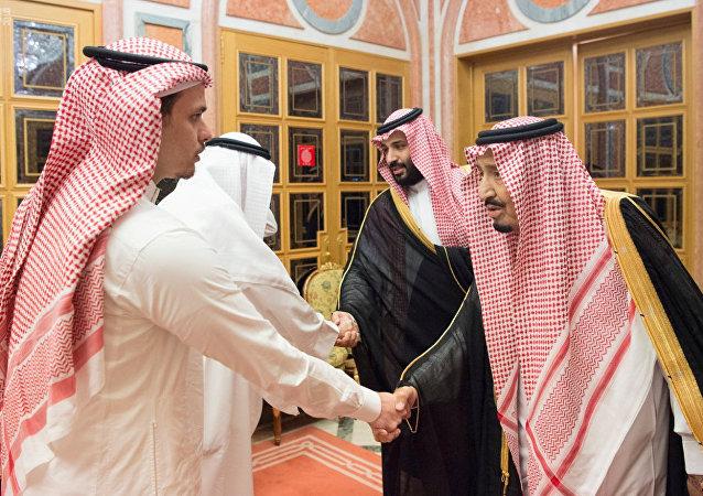 El rey saudí Salmán bin Abdelaziz recibió en su palacio Al Yamamah de Riad a los familiares del periodista Jamal Khashoggi para expresar sus condolencias