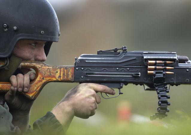 Soldado bielorruso (archivo)