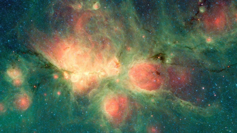 Burbujas de la Nebulosa Pata de Gato