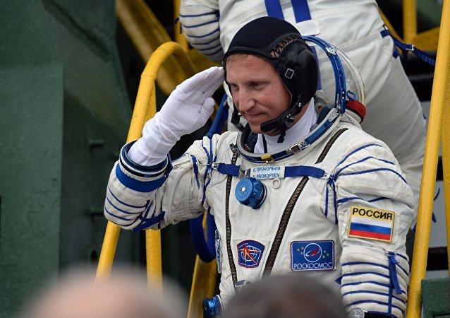 Serguéi Prokópiev, cosmonauta ruso