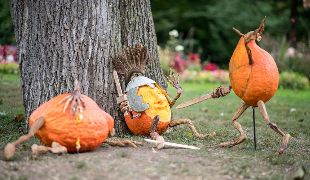¿Dulce o truco? Las calabazas más fantasmagóricas de Halloween