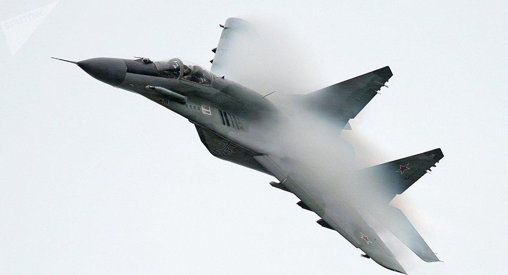 Un MiG-29 (imagen referencial)