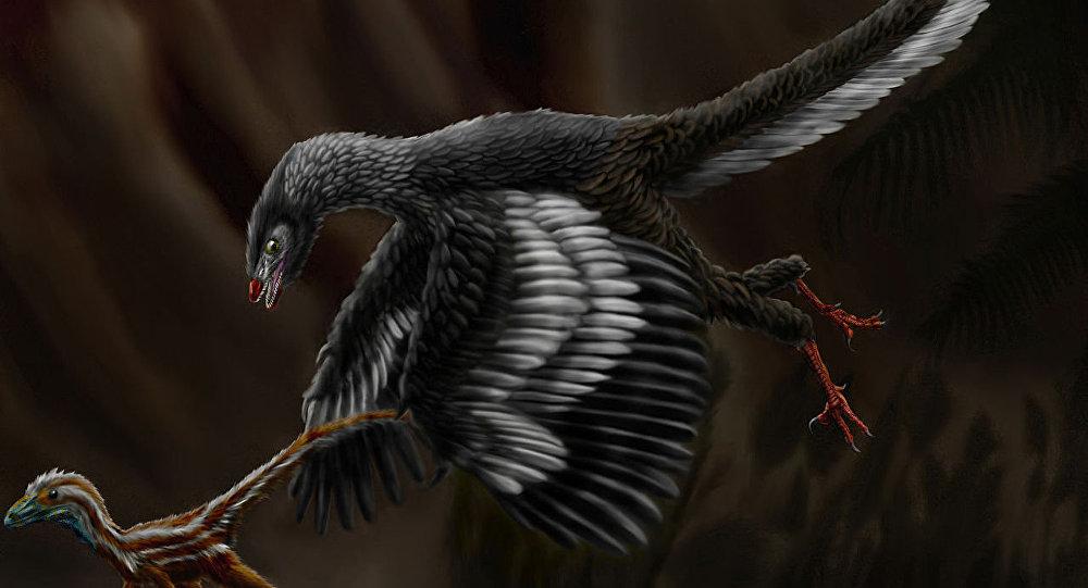 Arqueópterix (impresión artística)