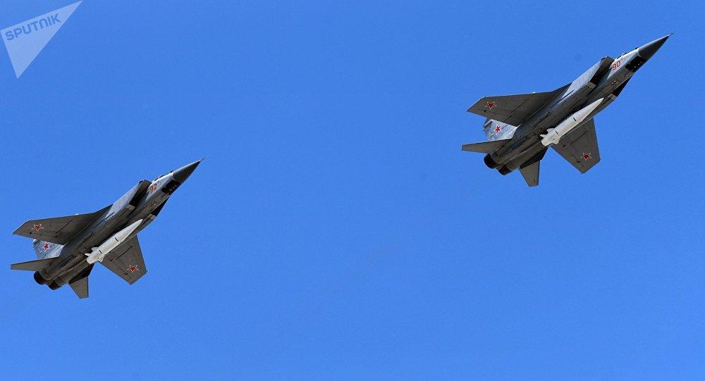 Los interceptores MiG-31 (archivo)