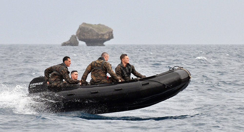 Una embarcacion neumática (imagen referencial)