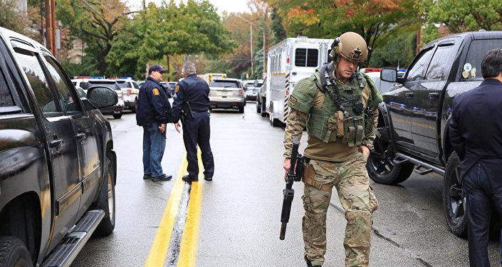 Situación en Pittsburgh tras un tiroteo en la sinagoga Tree of Life