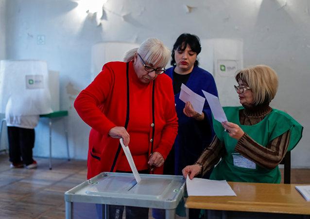 Elecciones presidenciales en Georgia