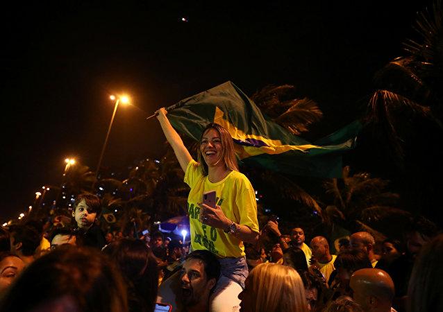 Segidores de Jair Bolsonaro